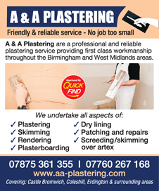 A & A Plastering