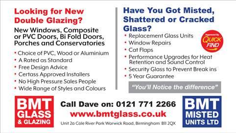 BMT Glass & Glazing