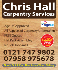 Chris Hall Carpentry Services