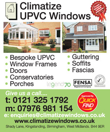 Climatize UPVC Windows