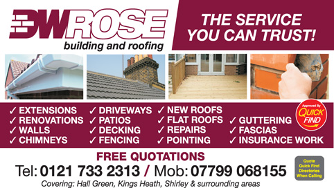 DW Rose Building and Roofing