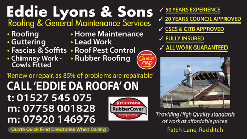 Eddie Lyons and Sons Roofing
