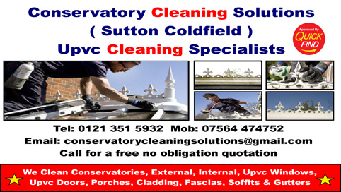 Conservatory Cleaning Solutions