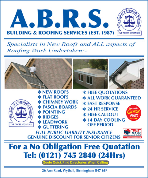 ABRS Building and Roofing