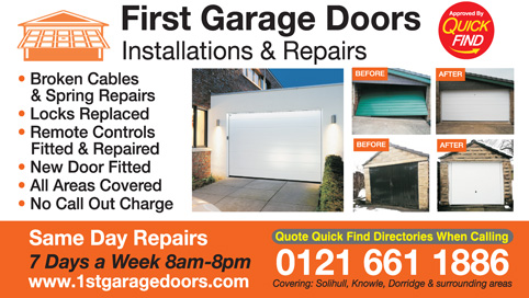 First Garage Doors