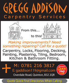 Gregg Addison Carpentry Services