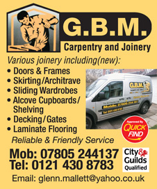 GBM Carpentry & Joinery