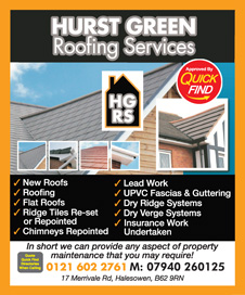 Hurst Green Roofing Services