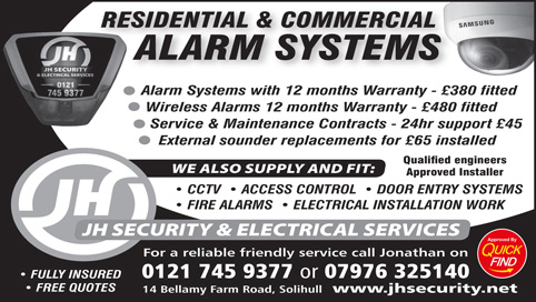 JH Security & Electrical Services