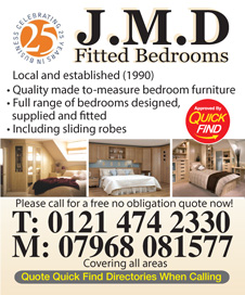 JMD Fitted Bedrooms