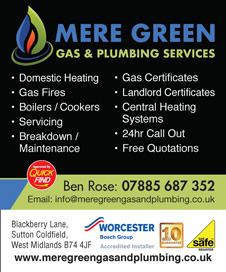 Mere Green Gas & Plumbing Services