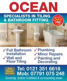 Ocean Tilers and Bathroom Fitting