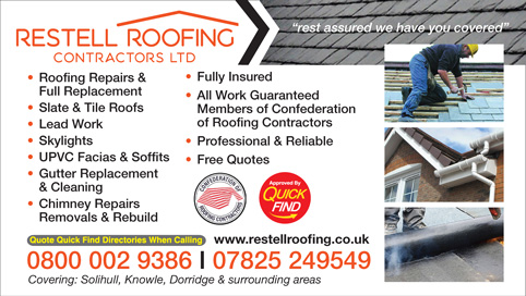 Restell Roofing Contractors Ltd