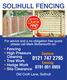 Solihull Fencing
