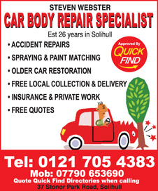 Steven Webster Car Body Repairs