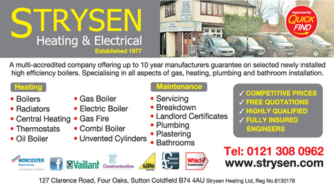 Strysen Heating & Electrical