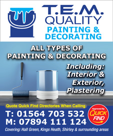 T.E.M. Quality Painting & Decorating
