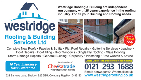 Westridge Roofing & Building Services Ltd