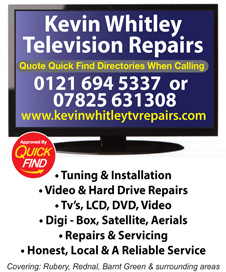 Kevin Whitley Television Repairs