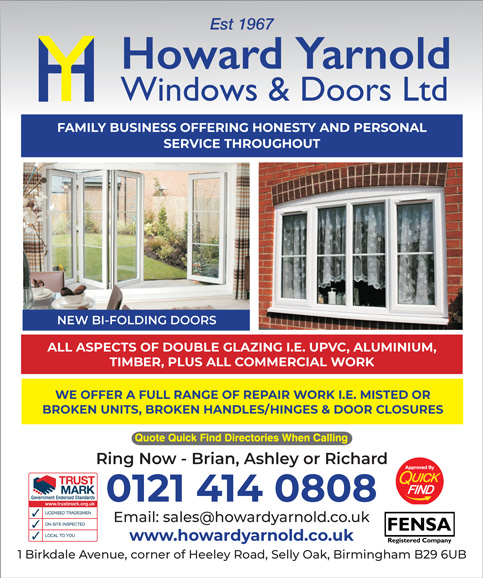 Howard Yarnold Windows & Doors Ltd