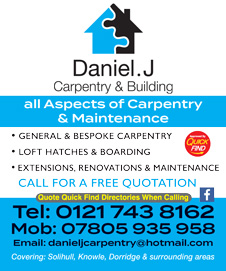 Daniel J Carpentry & Building