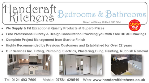 Handcraft Kitchens Bedrooms and Bathrooms