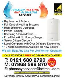 Pheasey Heating and Plumbing Services