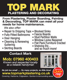 Top Mark Plastering & Decorating