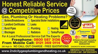 2nd City Gas Plumbing and Heating