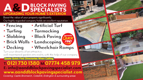 A&D Block Paving Specialists
