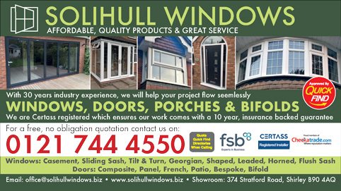 Solihull Windows