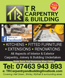 TR Carpentry & Building