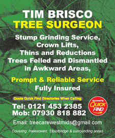 Tim Brisco Tree Surgery & Landscaping