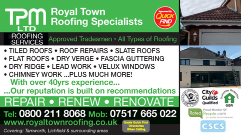 Royal Town Roofing Specialists