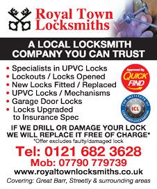Royal Town Locksmiths Secure YourDoor