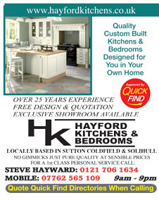 Hayford Kitchens and Bedrooms