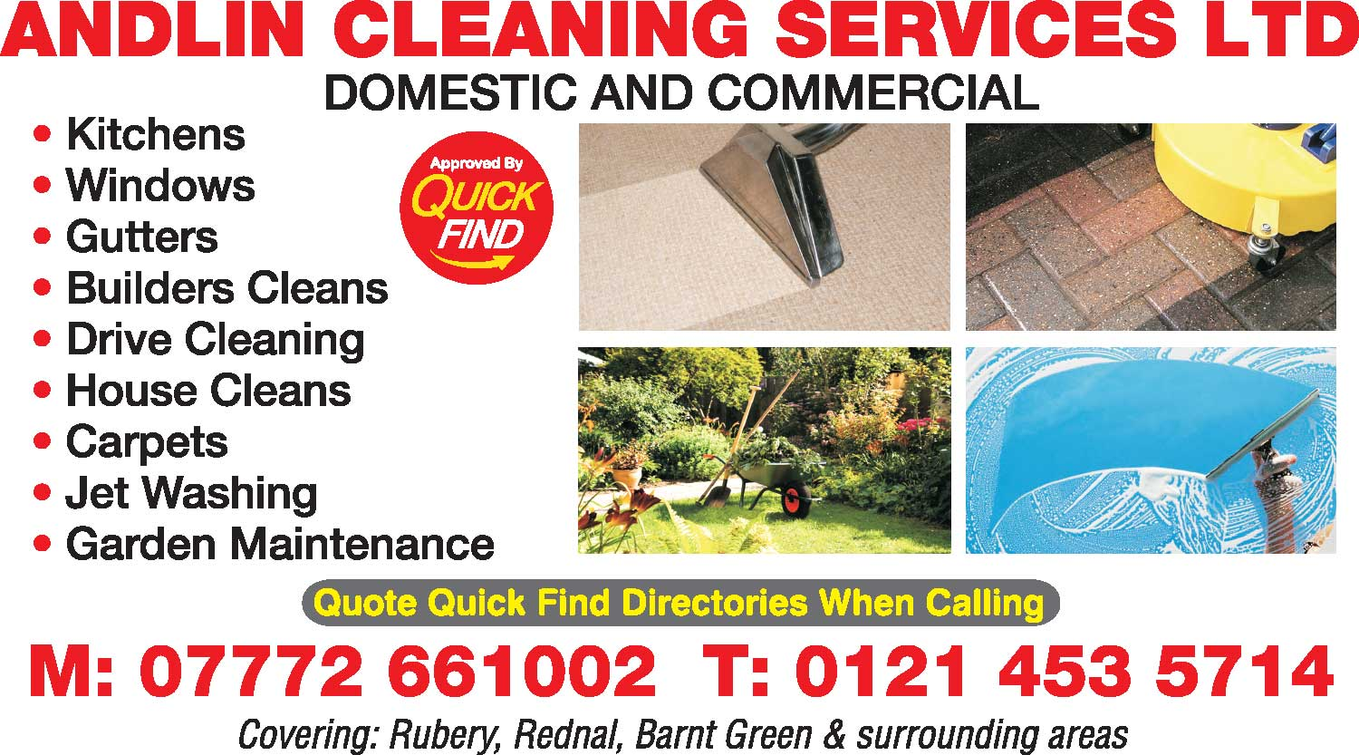 Andlin Cleaning Services Ltd