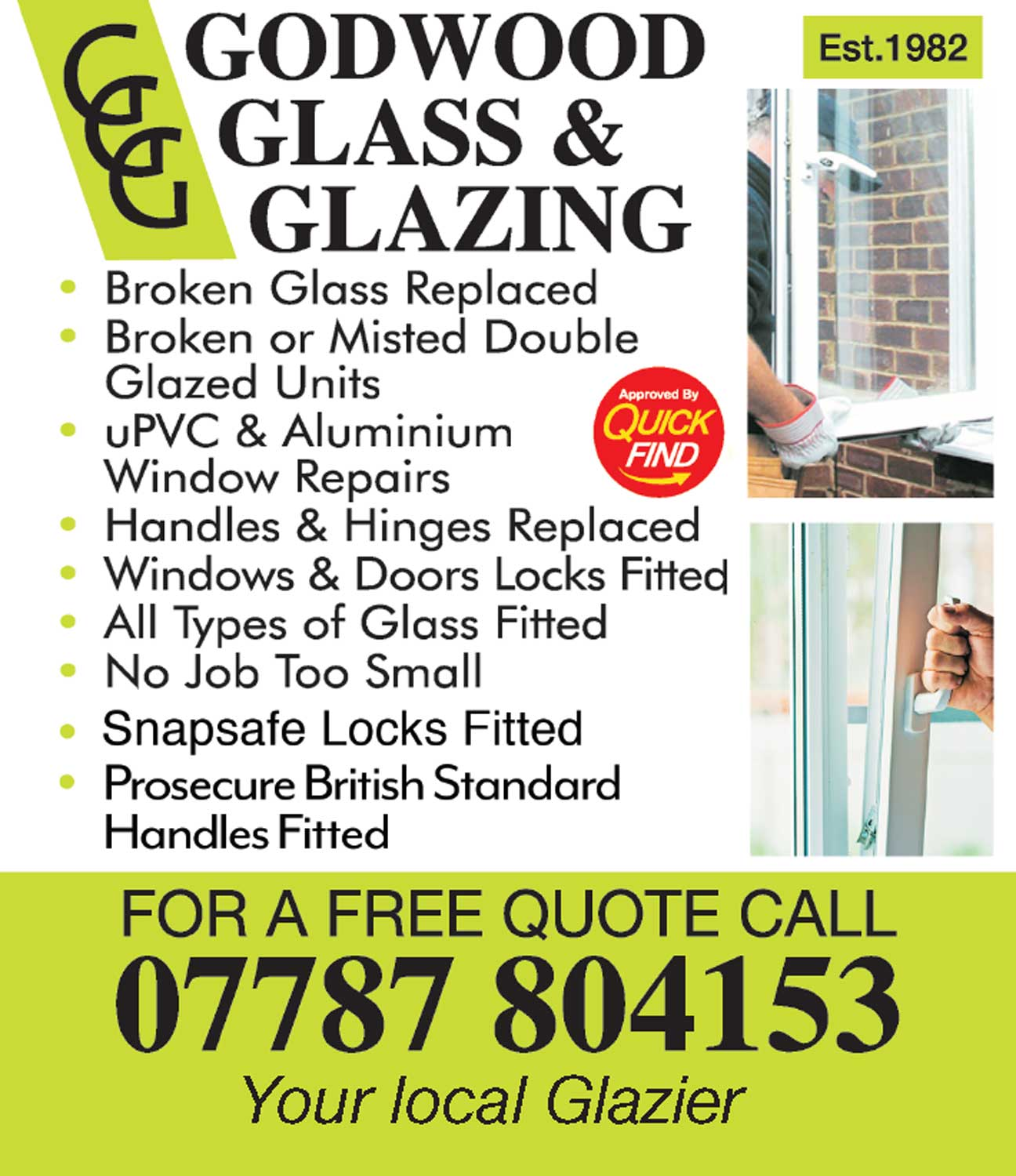 Godwood Glass and Glazing