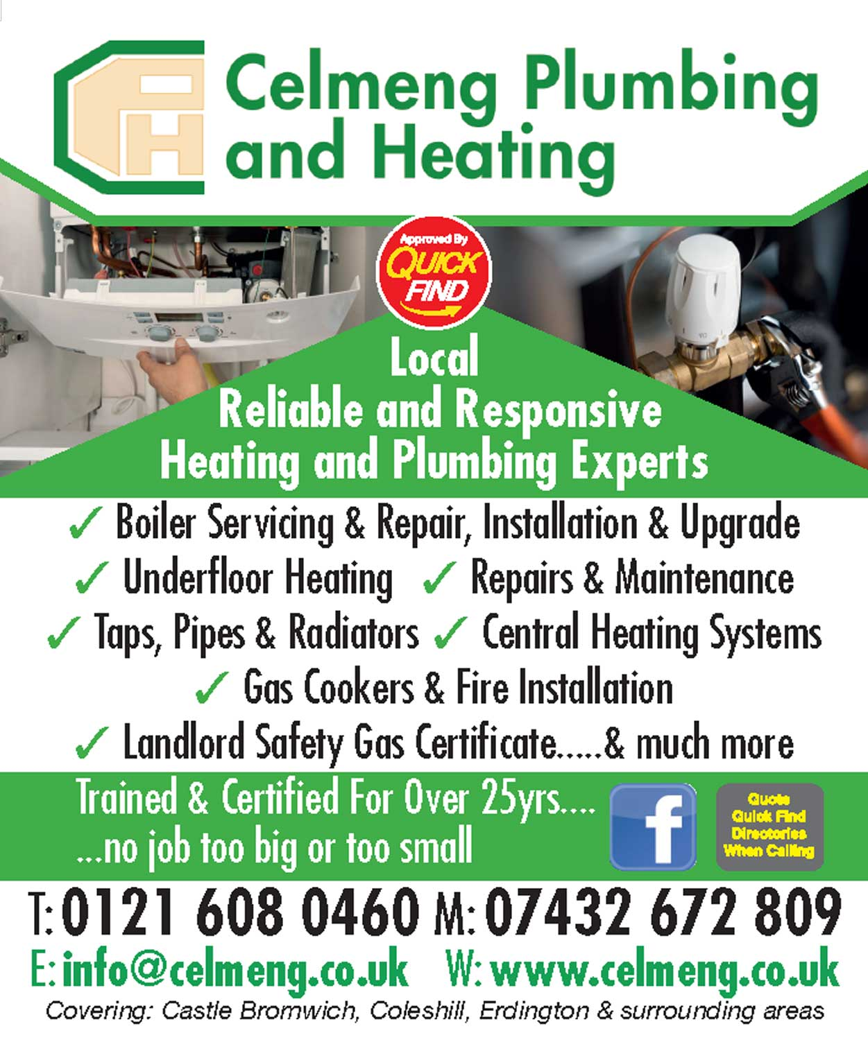 Celmeng Plumbing and Heating
