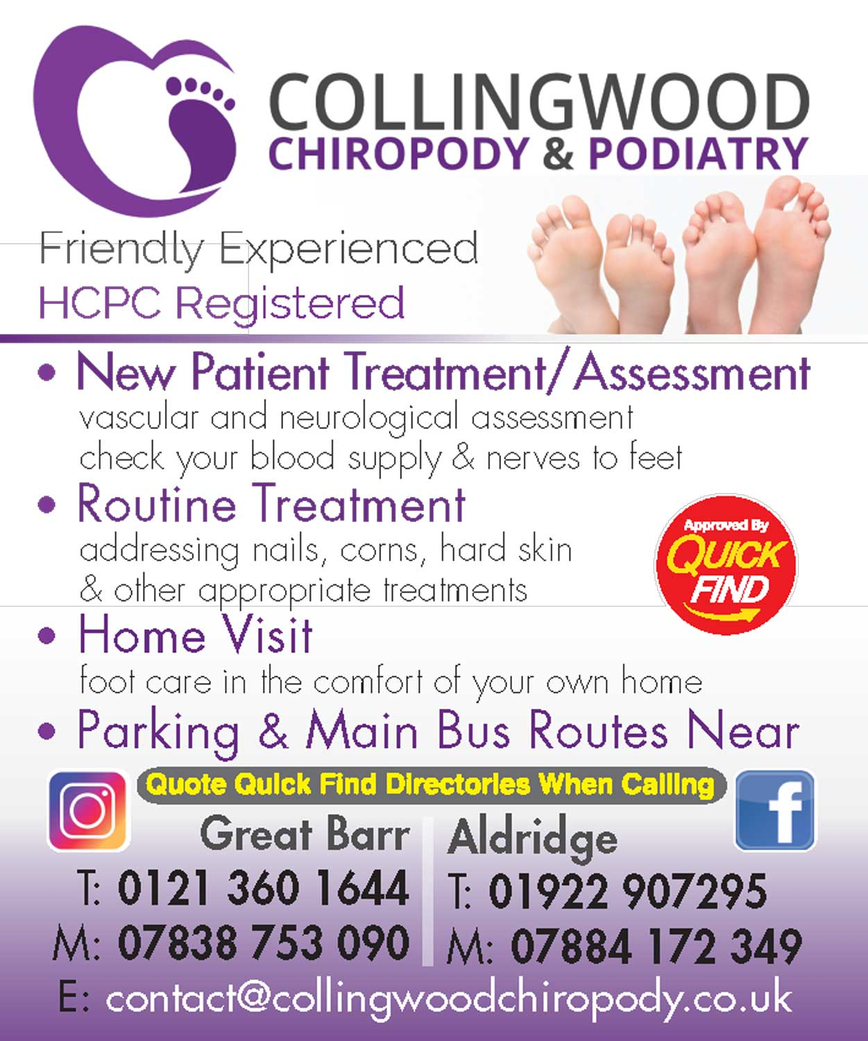 Collingwood Chiropody & Podiatry