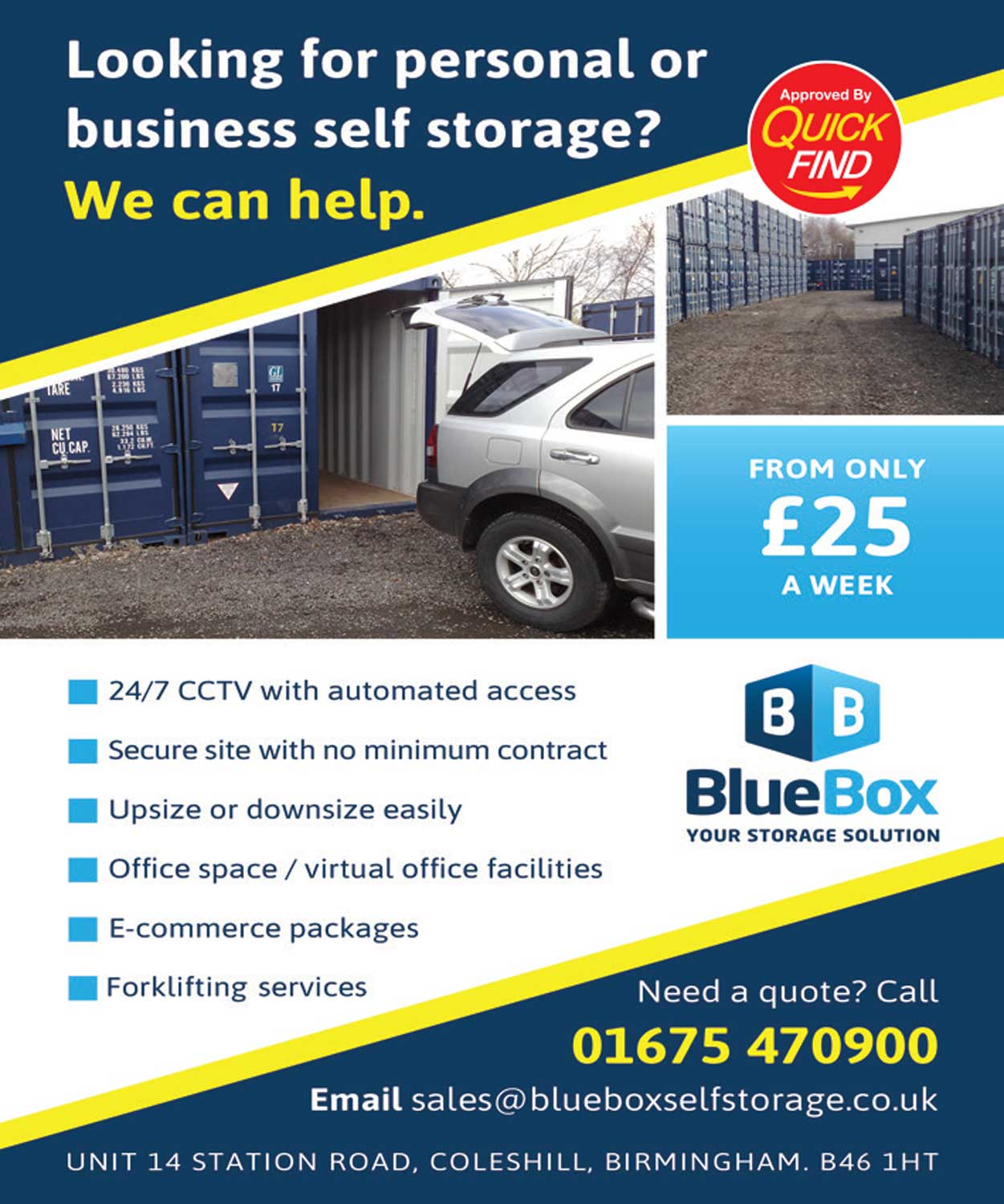 Blue Box Self Storage