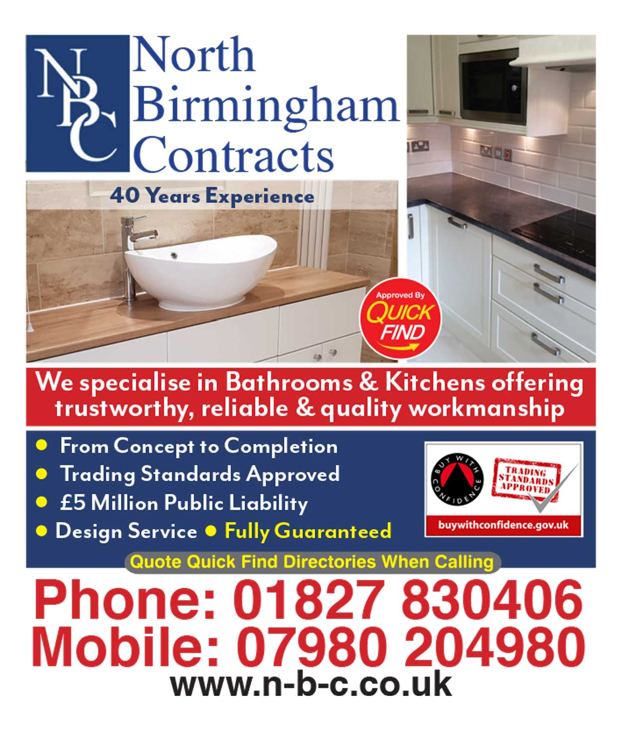 North Birmingham Contracts
