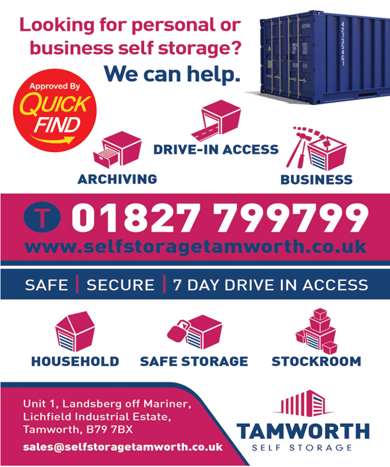 Tamworth Self Storage