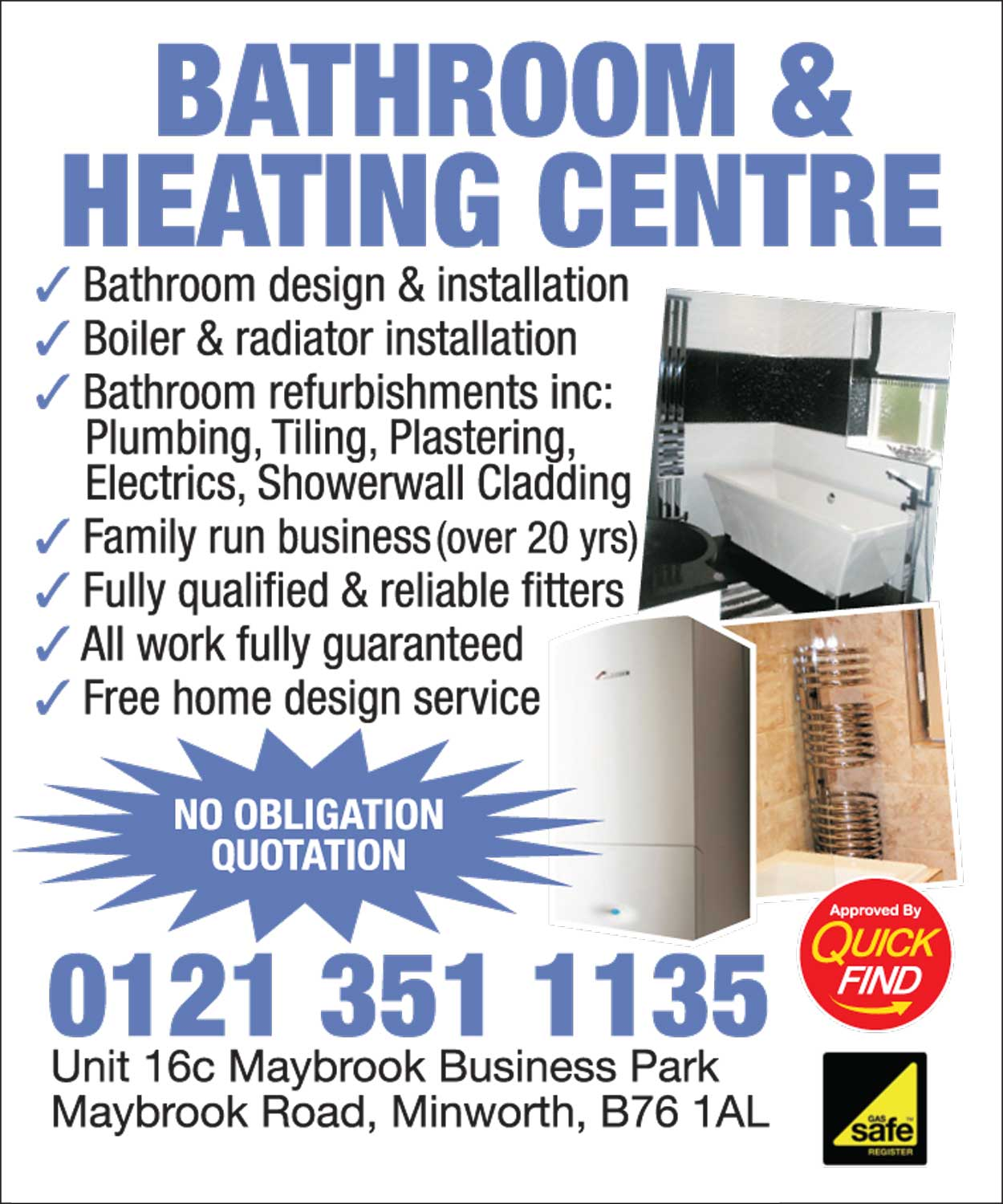 Bathroom and Heating Centre