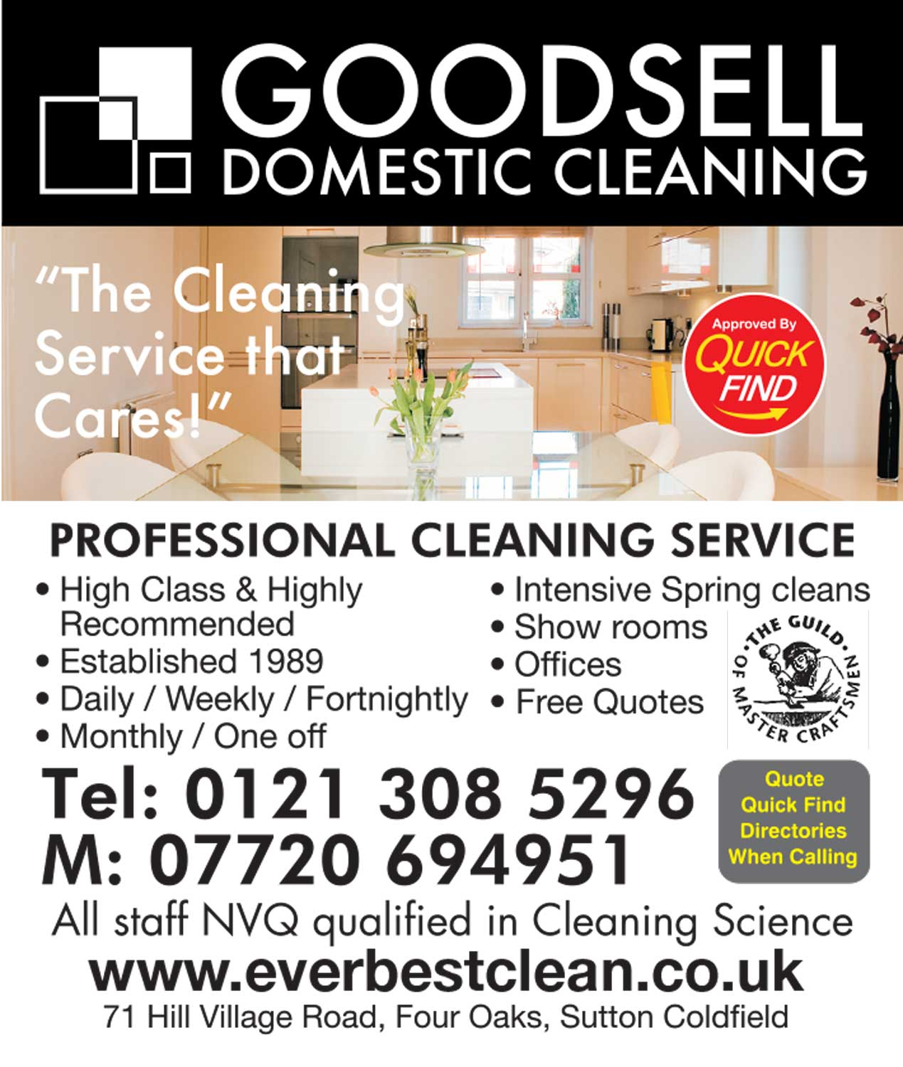 Goodsell Domestic Cleaning