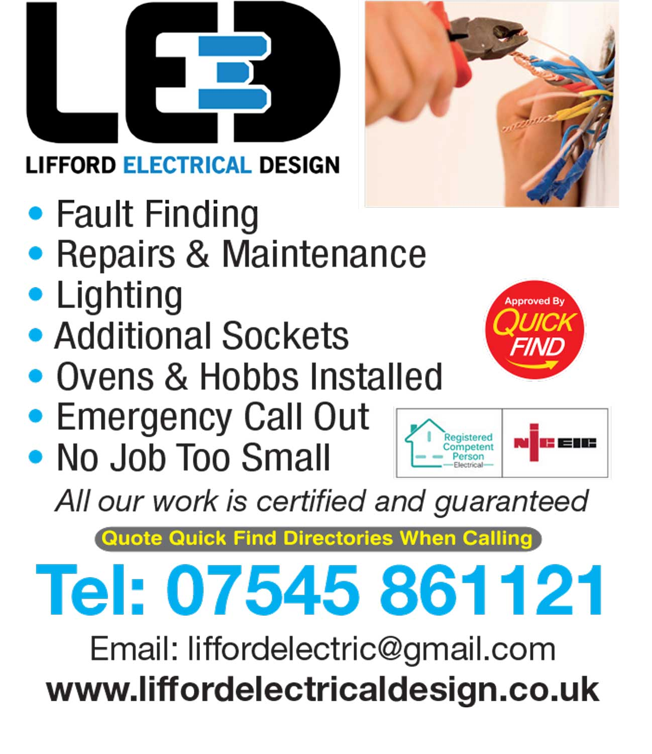 Lifford Electrical Design