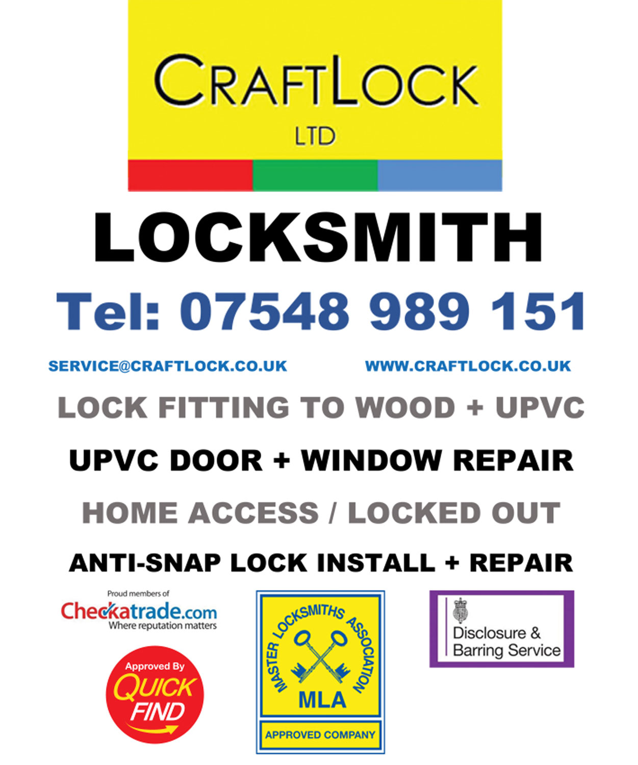 Craft Lock Ltd