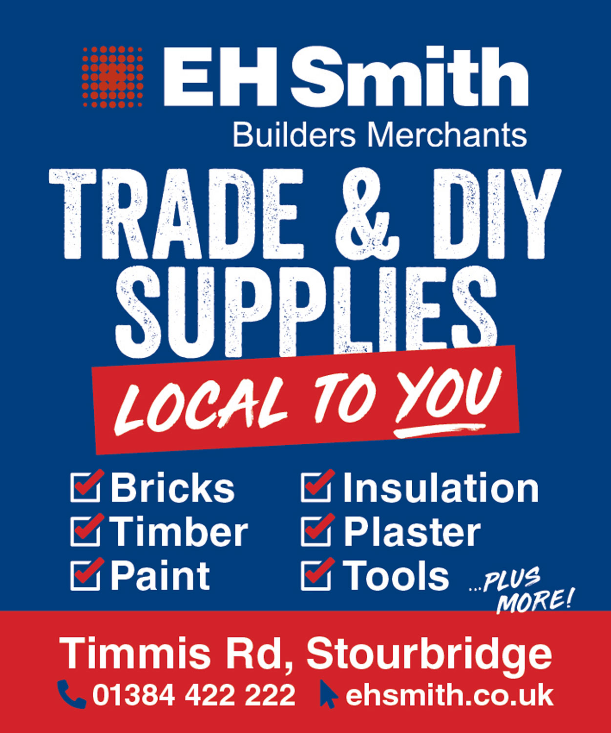 EH Smith Builders Merchants - Stourbridge