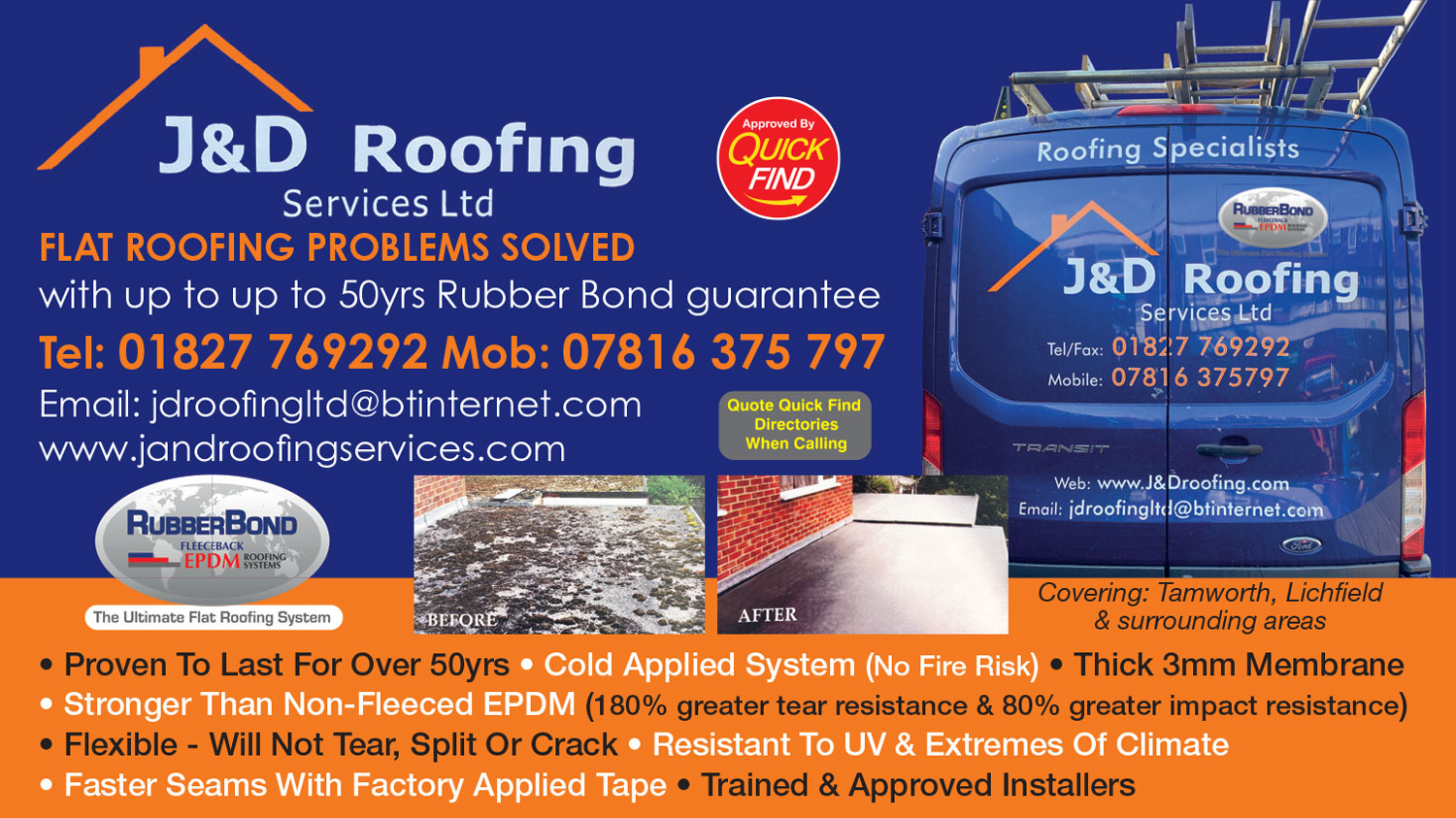 J&D Roofing Services Ltd