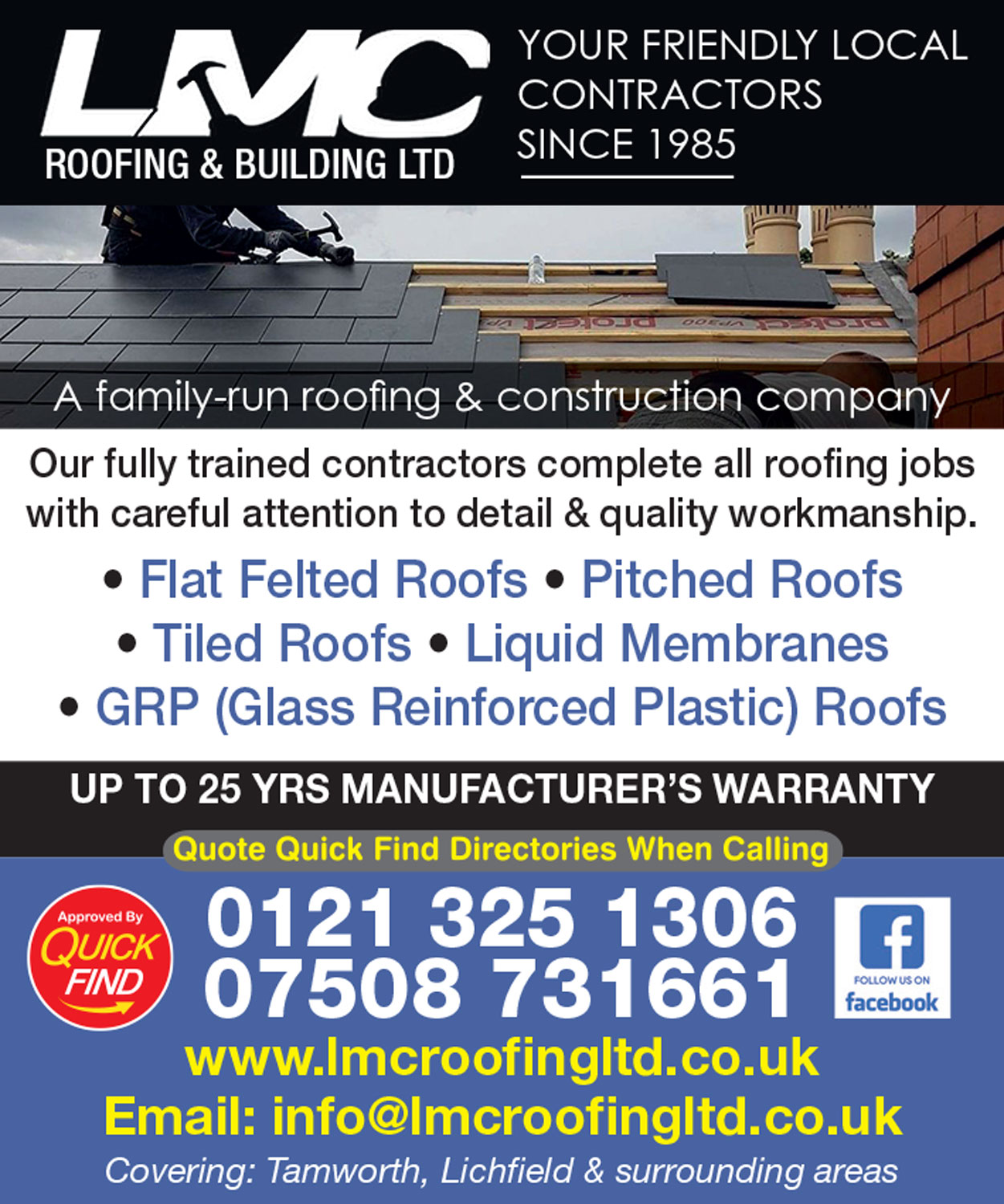 LMC Roofing & Building Ltd